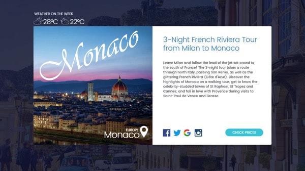 Création site internet - référencement Monaco