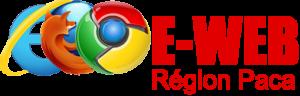 logo création site internet e-web Paca